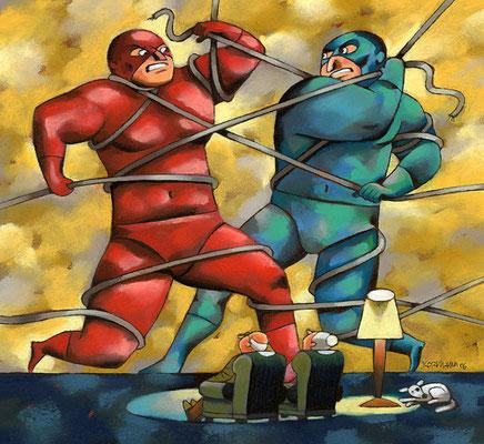 TV8. La guerre des cablo-opérateurs. ©2006