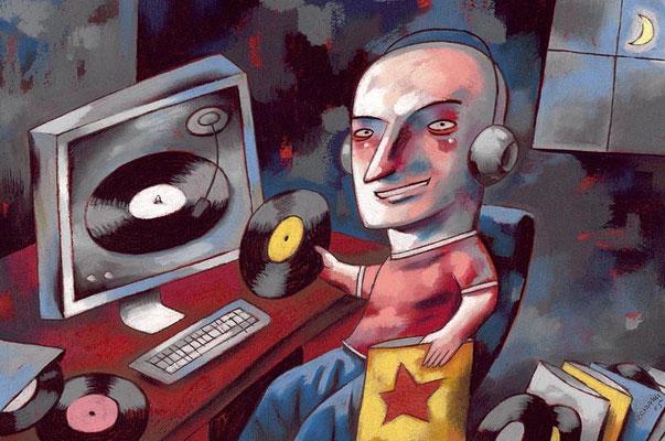 Le Temps - Les audioblogs. ©2005