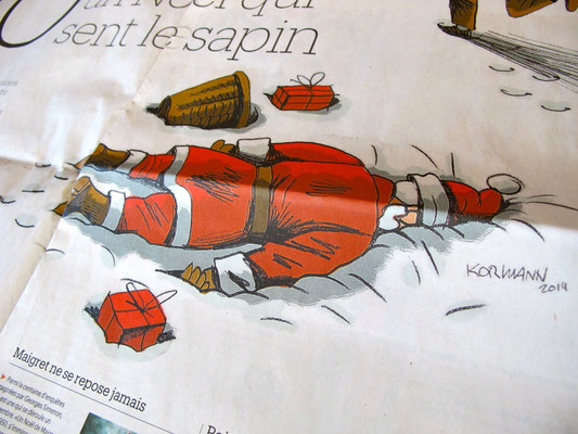 Le Matin Dimanche. Les polars de Noël. ©2014