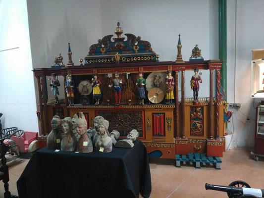 orgue de foire Fournier avec aotomates