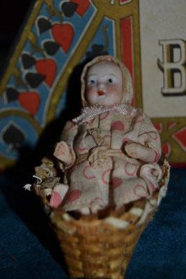 Bébé Allemand en biscuit 1900