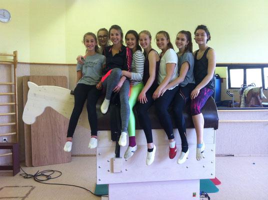 Team Leo (Herxheim 1) beim Lehrgangswochenende in Neubulach