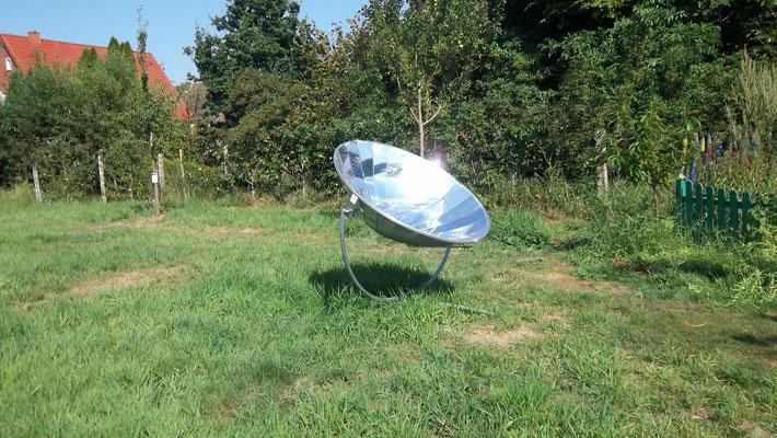 Wenn der Margen knurrt, hält auch mal der Satellitenkocher her.