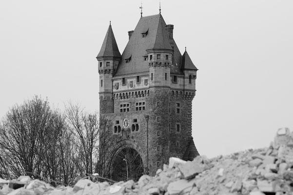 Niebelungenturm Worms s/w