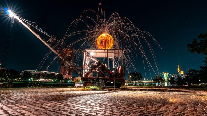 Lightpainting Frankfurt