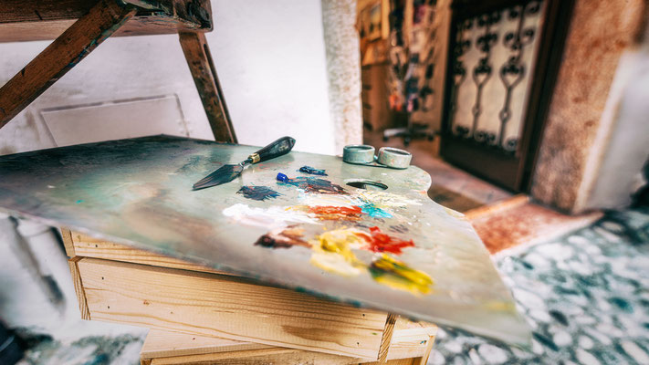 Handwerkskunst Maler