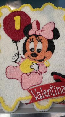 pastel cupcakes minnie baby