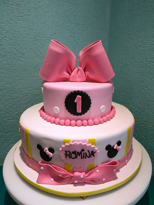 pastel fondant minnie mouse