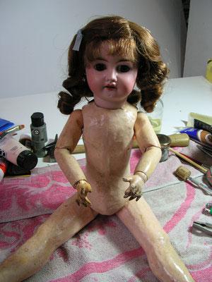 Réparation, restauration de poupées anciennes et contemporaines