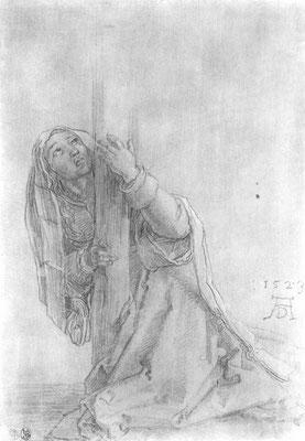 "Studie zur ""Großen Kreuzigung"": Hl. Magdalena"