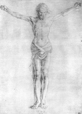 "Studie zur ""Großen Kreuzigung"": Christus am Kreuz"