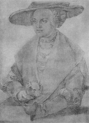 Porträt der Susanne von Brandenburg-Ansbach