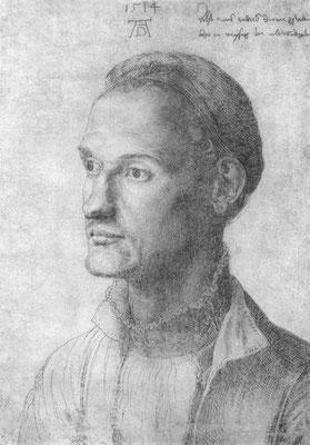 Portät des Endres Dürer - Bruder des Malers