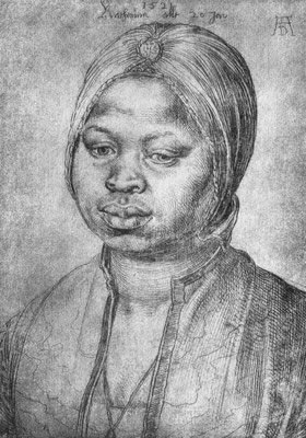 Porträt der Afrikanerin Katherina