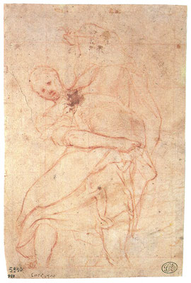 Correggio: Studie für einen Apostel [3]