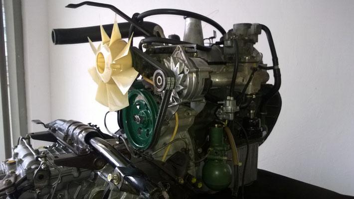D Super 5 - Motor, einbaufertig