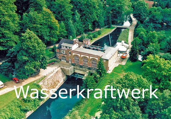 Wasserkraftwerk 1 an der Schwentine