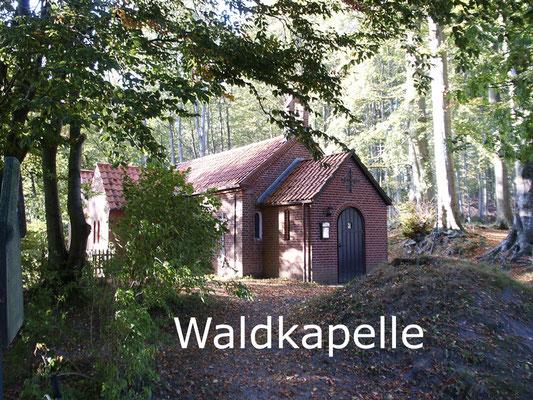 """Waldkapelle """"Zum ewigen Troste"""" in Neuwühren"""