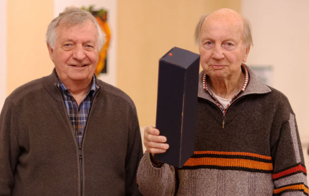 Dank an den ehemaligen Vorsitzenden Hans Joachim Ulrich