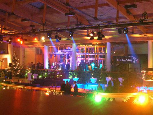 Lichttechnik AMG Weihnachtsfeier Stuttgart