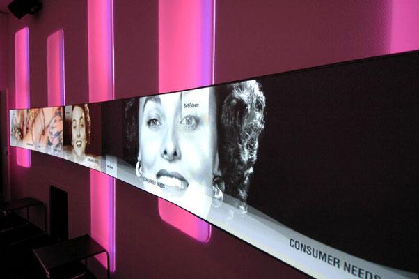 Steglos Plasma Wand mieten Frankfurt Stuttgart