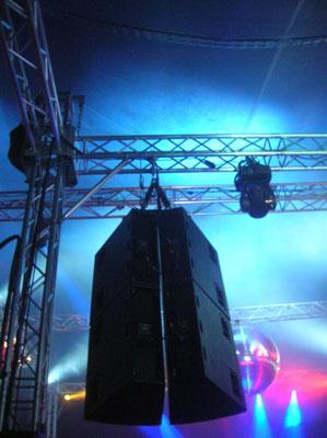 Lautsprecheranlage mieten Mannheim