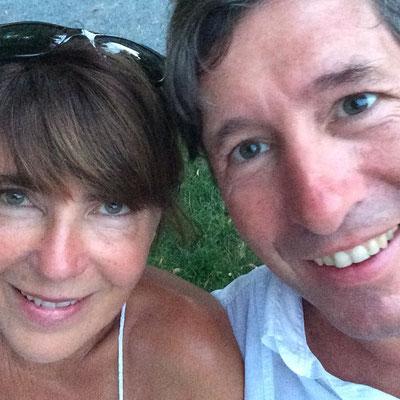 Daniel Creutz und Irene Amana Kreus