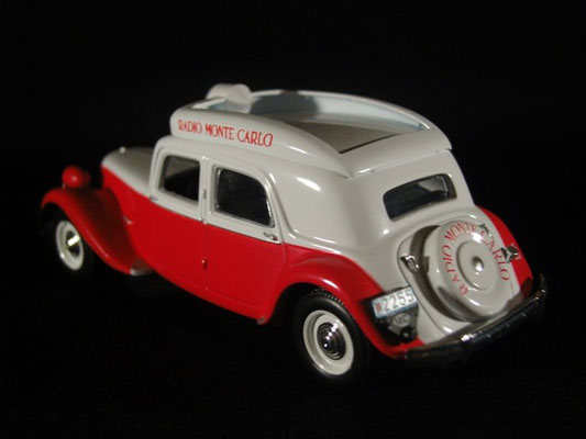Citroën Traction 15 Six    Radio Monte-Carlo    Tour de France 1952