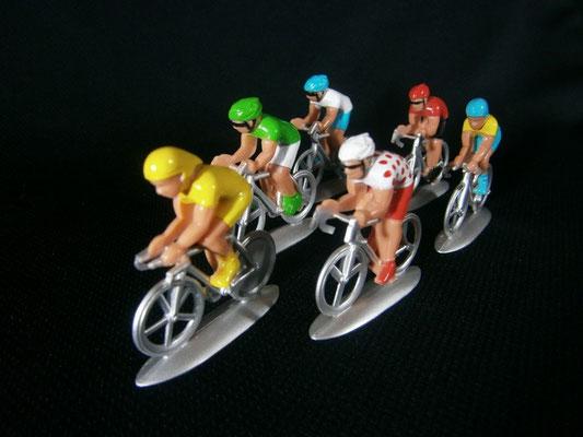 Cycliste NOREV  vue de face