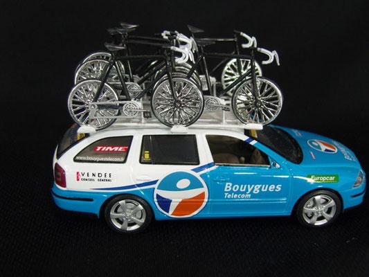 Skoda Octavia Combi Equipe CREDIT AGRICOLE                    Tour de France