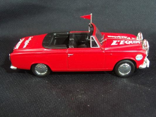 Peugeot 403 Cabriolet Directeur de course                       Tour de France 1960