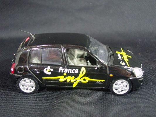 Renault Clio  Radio FRANCE INFO                                          Tour de France