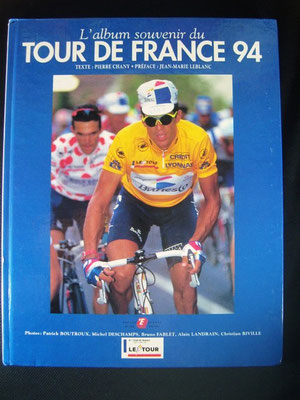 Livre officiel Tour de France 1994