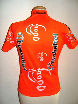 Maillot Equipe EUSKATEL EUSKADI  2002