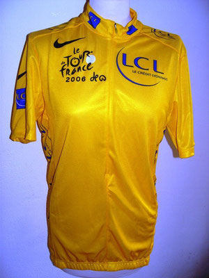 Maillot Jaune LCL Tour de France 2006  Oscar Pereiro