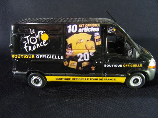 Renault Master Boutique Officielle du Tour de France  Tour de France 2008