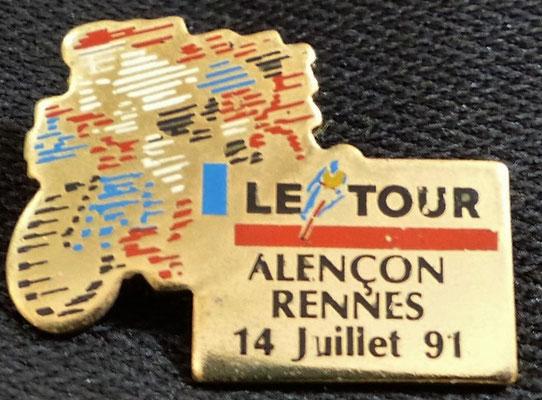 14 juillet 1991  Alençon - Rennes