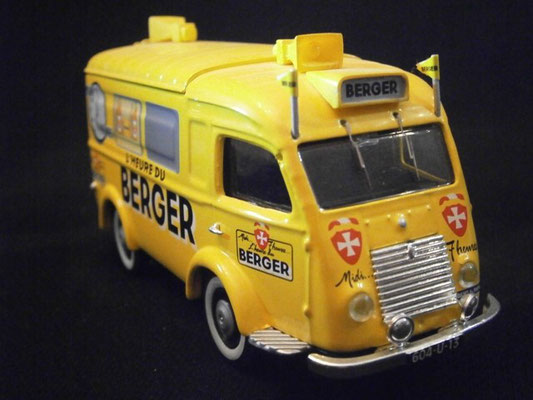 Renault 1000kgs  BERGER   Tour de France 1950