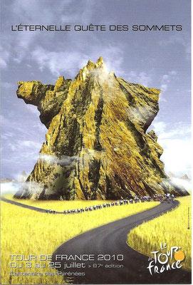 Affiche Tour de France 2010