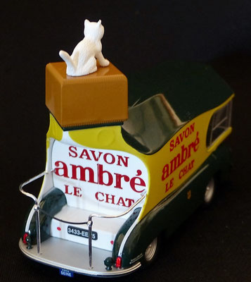 Camion SAVON LE CHAT AMBRE    Tour de France 1952