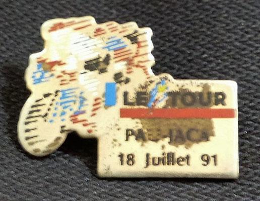 18 juillet 1991  Pau - Jaca