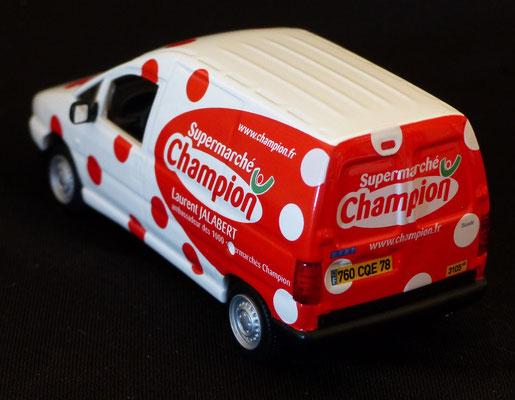 Fiat Scudo Supermarché Champion Laurent Jalabert     Caravane Tour de France 2003