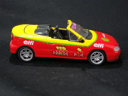Renault Mégane Cabriolet Antargaz  Caravane Tour de France 2001