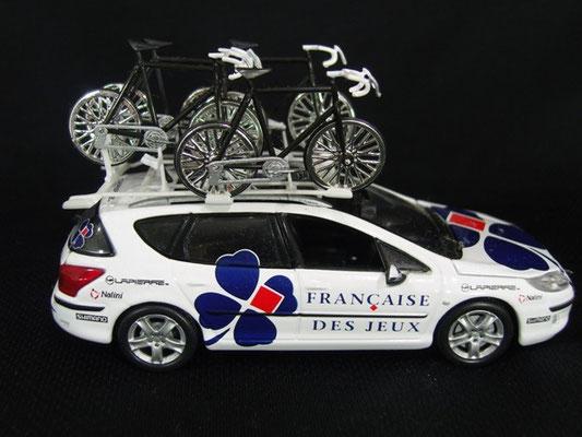 Peugeot 407 SW Equipe FRANCAISE DES JEUX  Marc Madiot Tour de France 2007
