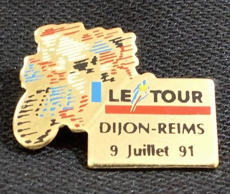 9 juillet 1991  Dijon - Reims