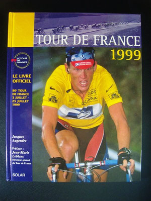 Livre officiel Tour de France 1999