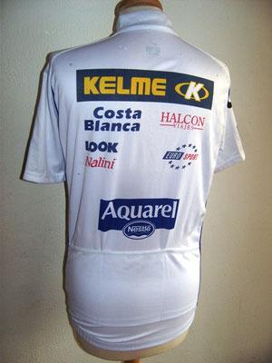 Maillot blanc Tour de France 2001    Oscar SEVILLA