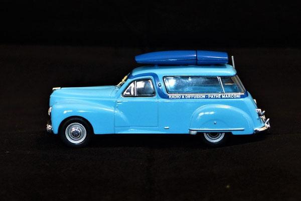 Peugeot 203 Fourgon PATHE MARCONI     Caravane Tour de France 1953