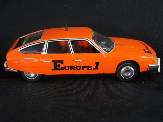 Citroën CX  radio EUROPE 1                                          Tour de France 1975
