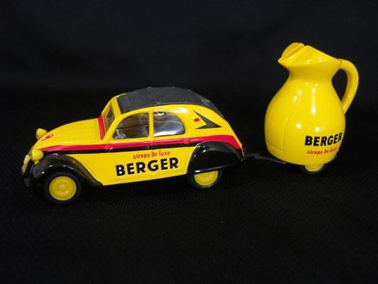 Citroen 2 CV AZLM   LA CARAFE BERGER   Tour de France 1970